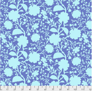Wildflower in Delphinium from True Colors by Tula Pink for Freespirit Fabrics