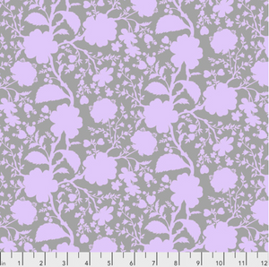 Wildflower in Hydrangea from True Colors by Tula Pink for Freespirit Fabrics