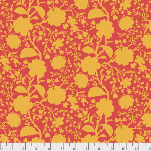 Wildflower in Snapdragon from True Colors by Tula Pink for Freespirit Fabrics