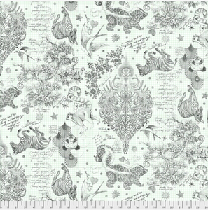 October Preorder/Deposit- 108in Wideback, Sketchyr in Paper from Linework by Tula Pink for Freespirit Fabrics