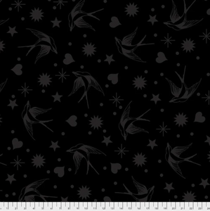 October Preorder/Deposit- Fairy Flakes in Ink from Linework by Tula Pink for Freespirit Fabrics