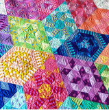Tula Pink Nebula Block of the Month Kit, with Tula Pink and Jaybird Quilts