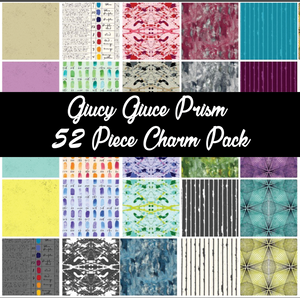 Prism By Giucy Giuce Mini Charm Pack, 52 Pieces, 2 each of 26 prints