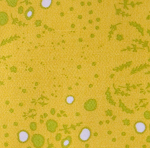 Grove in Mustard from Sun Print 2015 by Alison Glass for Andover Fabrics