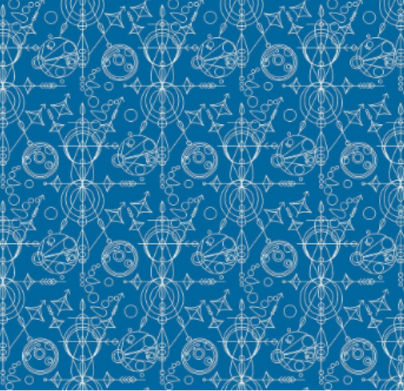 Mercury in Blue from Sun Print 2015 by Alison Glass for Andover Fabrics