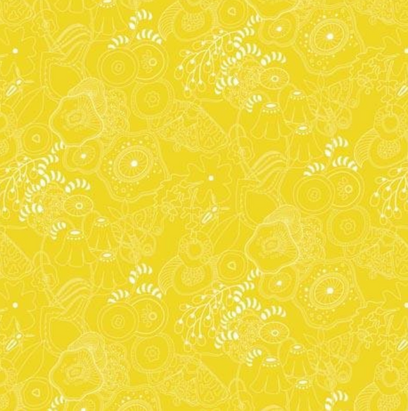 Grow in Straw from Sun Print 2016 by Alison Glass for Andover Fabrics