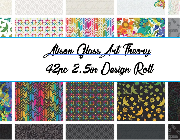 Alison Glass Art Theory 40pc  2.5in Design (