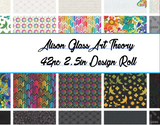 "Alison Glass Art Theory 40pc  2.5in Design (""Jelly"") Roll"