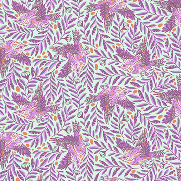 ReTweet in Aurora from Spirit Animal by Tula Pink for Freespirit Fabrics