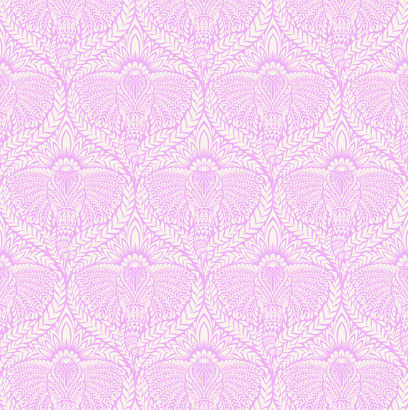 Deity in Orchid from Eden by Tula Pink for Freespirit Fabrics