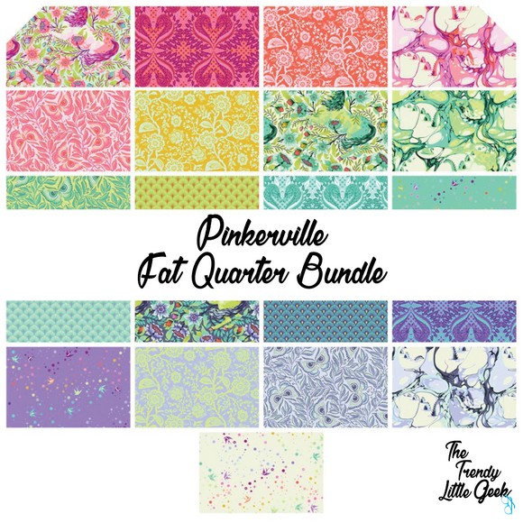 Pinkerville by Tula Pink 21 Piece Fat Quarter Bundle