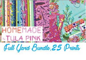HomeMade by Tula Pink Full Yard Bundle, 25 Prints