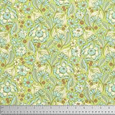 Wild Vines in Mint from Chipper by Tula Pink