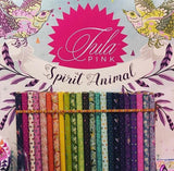Arrowheads in Star Light from Spirit Animal by Tula Pink for Freespirit Fabrics