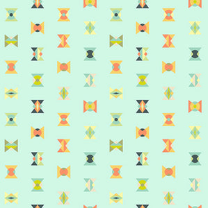 Arrowheads in Sun Kissed from Spirit Animal by Tula Pink for Freespirit Fabrics