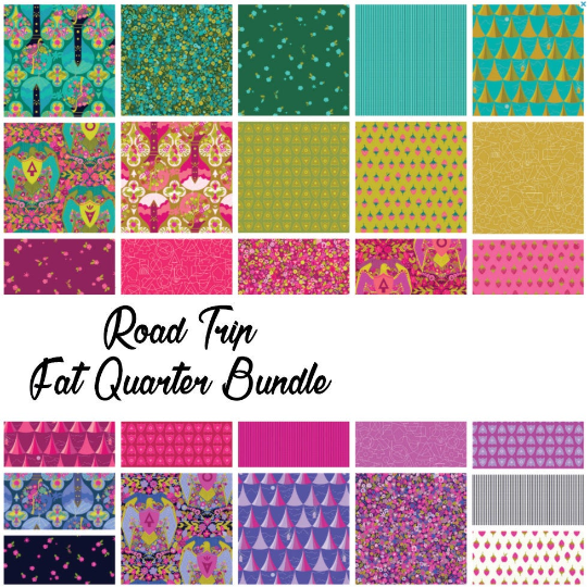 Road Trip by Alison Glass Fat Quarter Bundle, 27 Prints