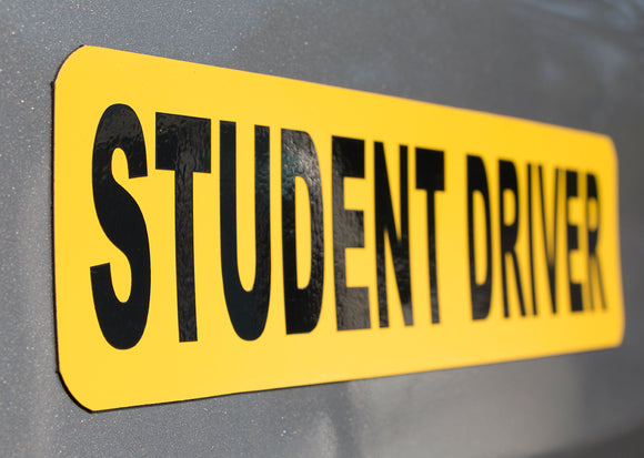 Student Driver Signs | Magnets or Stickers