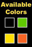Color options for driver's ed signs