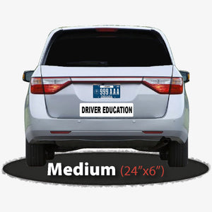 Driver Education magnet for student driving schools