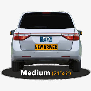 New Driver Magnetic Sign
