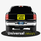 Student Driver Magnetic Sign Universal Size