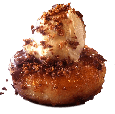 Maple Donut Ice Cream