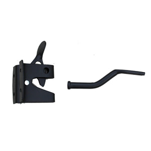 Black Auto Gate Latch