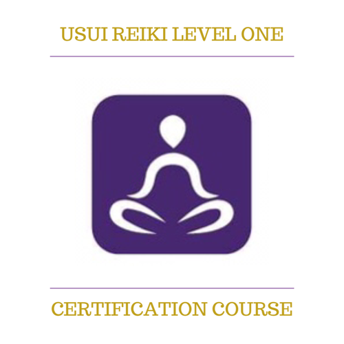 Usui Reiki Level One Certification
