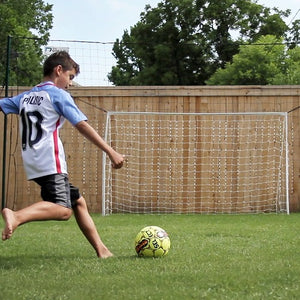 youth soccer training goal