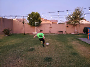soccer training backyard