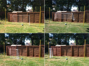 adjustable soccer goal rebounder