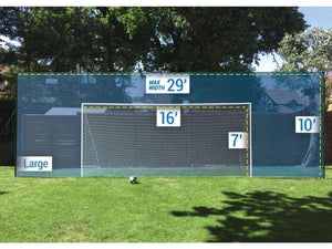 66d224d82a2 Soccer Goal + Rebounder + Backstop ALL IN ONE (Large) - Open Goaaal USA