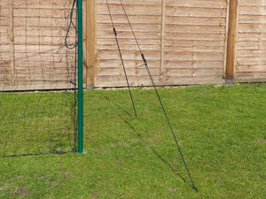 Soccer Goal + Rebounder + Backstop ALL IN ONE (Large)