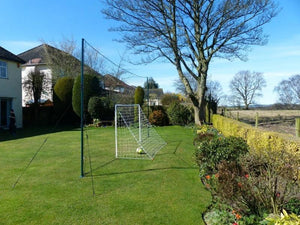 Soccer Goal + Rebounder + Backstop  ALL IN ONE (Standard)