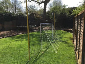 Soccer Goal + Rebounder + Backstop ALL IN ONE (Junior)