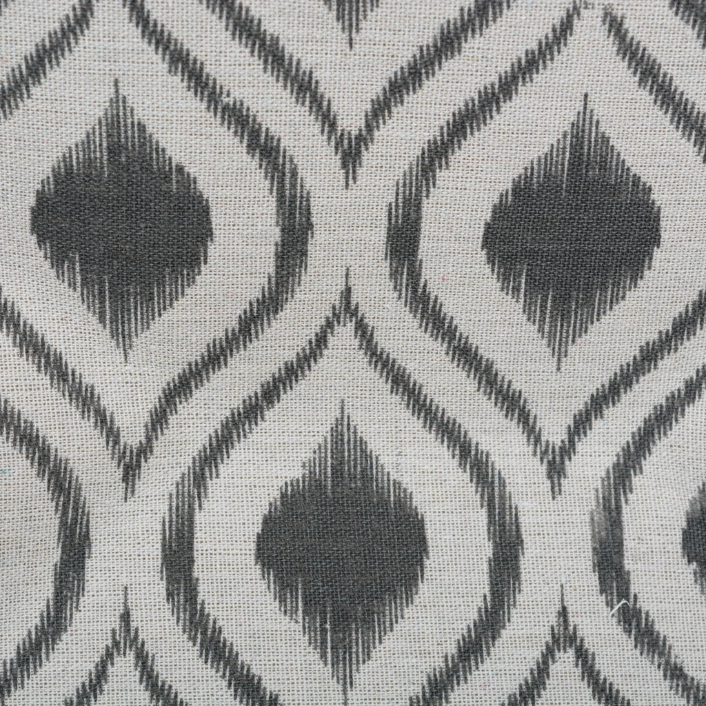 DII Polyester Bin Ikat Mineral Rectangle Large