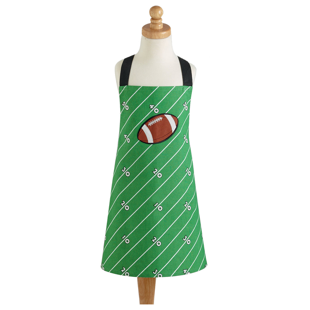 DII Football Field Child Apron
