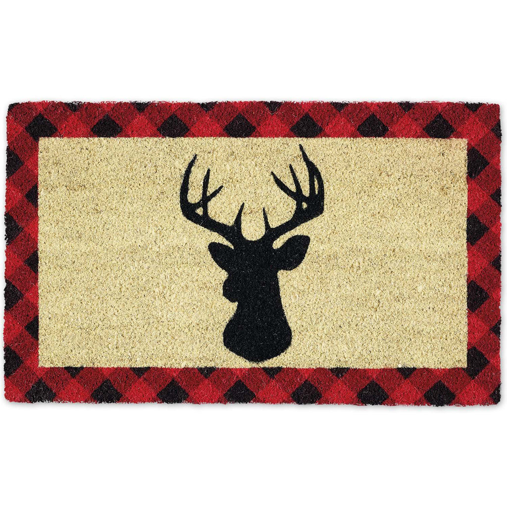 Holiday Stag Doormat