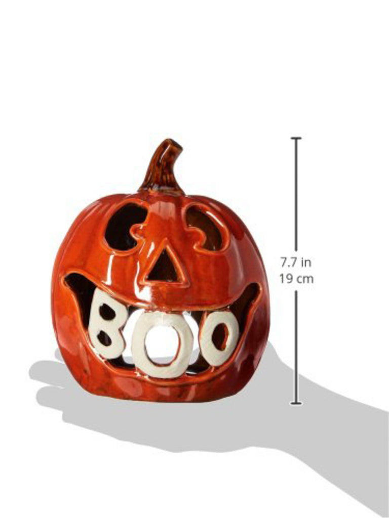 DII Boo Eek Pumpkin Lanterns (Set of 2)