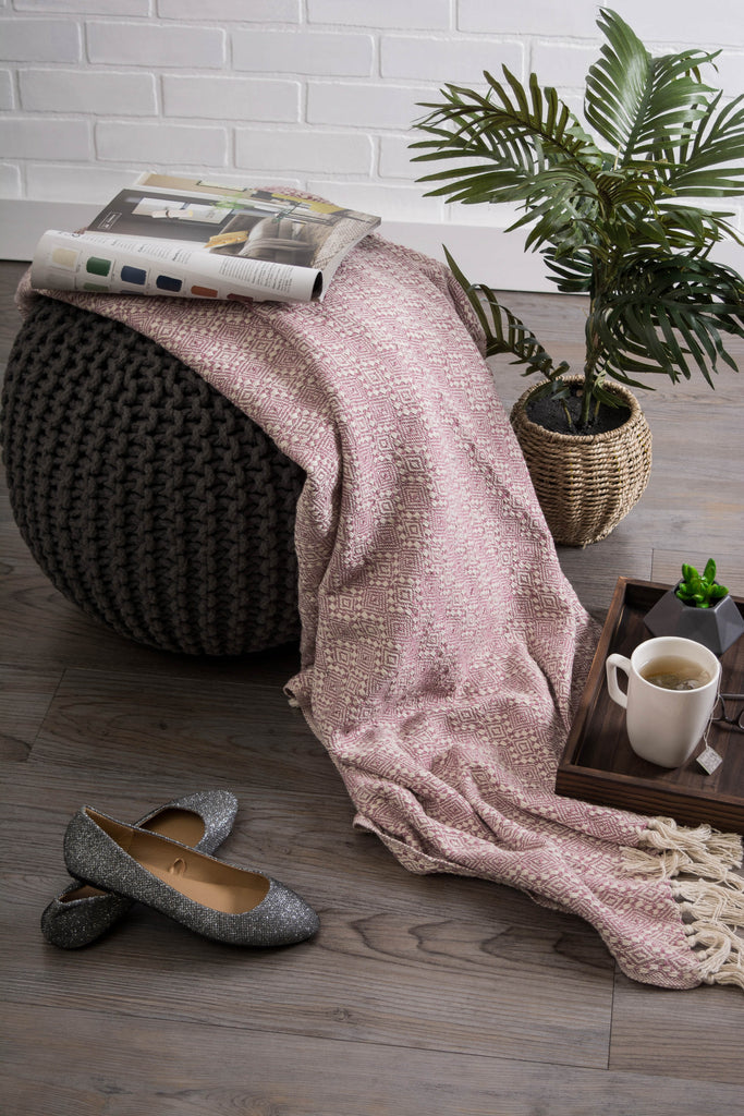 DII Rose Diamond Stitch Throw