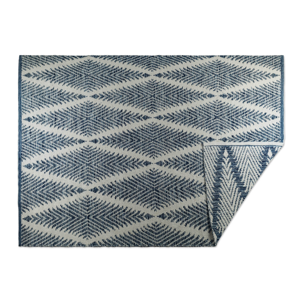 Blue Diamond Hand-Loomed Rug 2x3 Ft