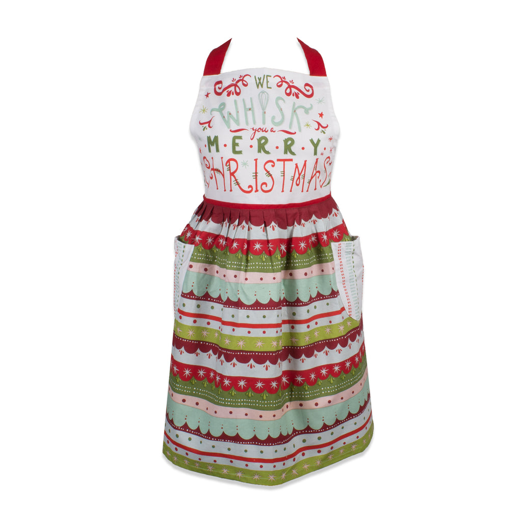 Whisk Merry Xmas Skirt Apron