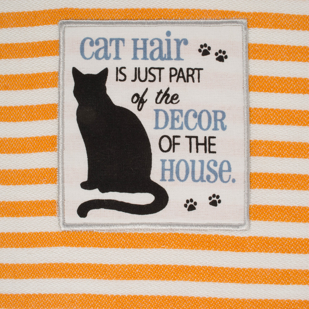 DII Assorted Cats Meow Embellished Dishtowel (Set of 3)