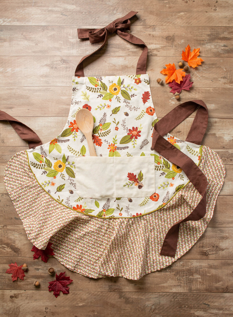 DII Fall In Love Ruffle Apron