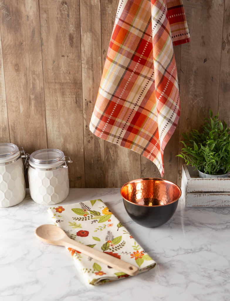 DII Assorted Fall In Love Dishtowel (Set of 2)