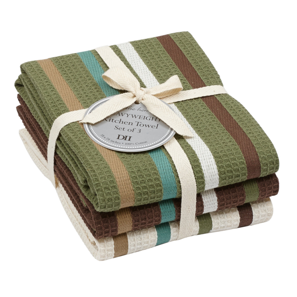 DII Pine Woods Heavyweight Dishtowel(Set of 3)