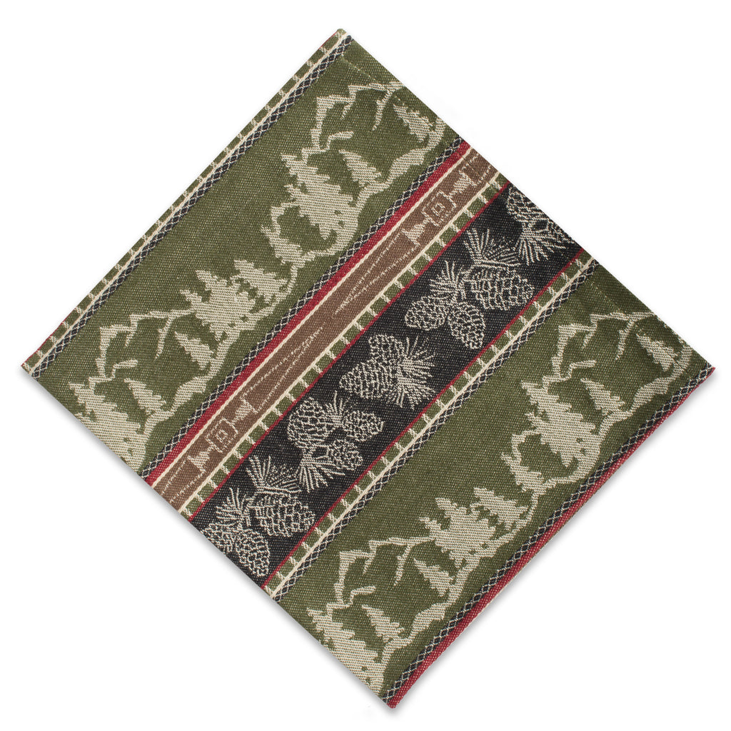 DII Pinecone Mountain Jacquard Napkin (Set of 6)