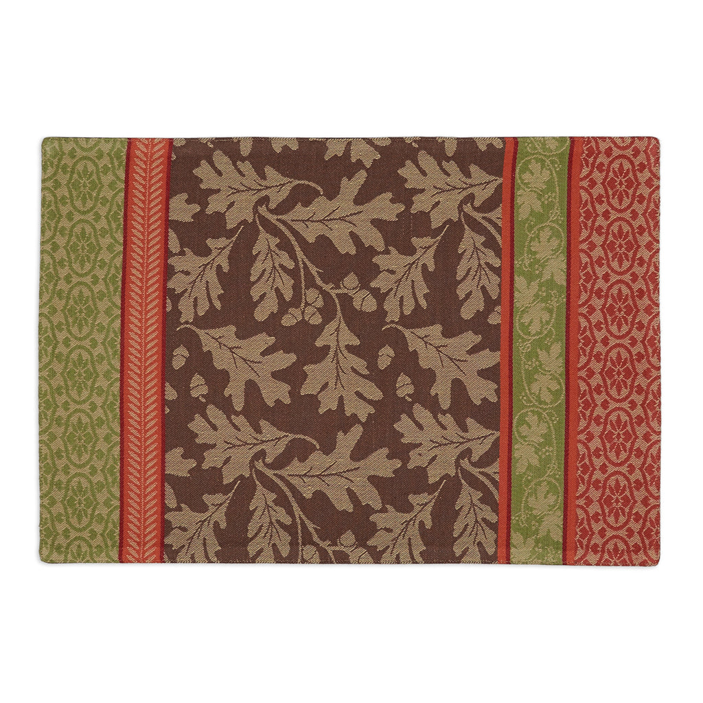 Great Oak Stripe Jacquard Placemat S/6