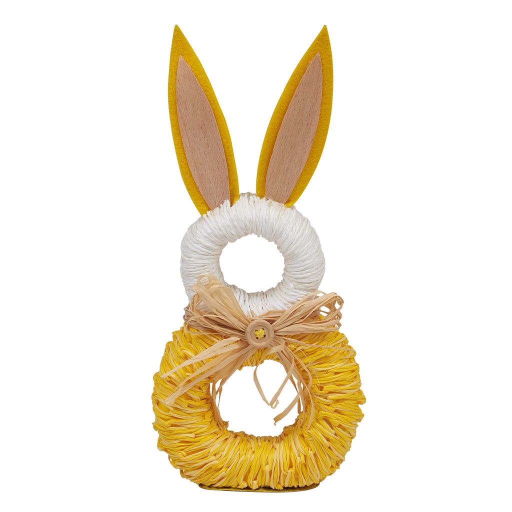Rabbit Napkin Rings S/6