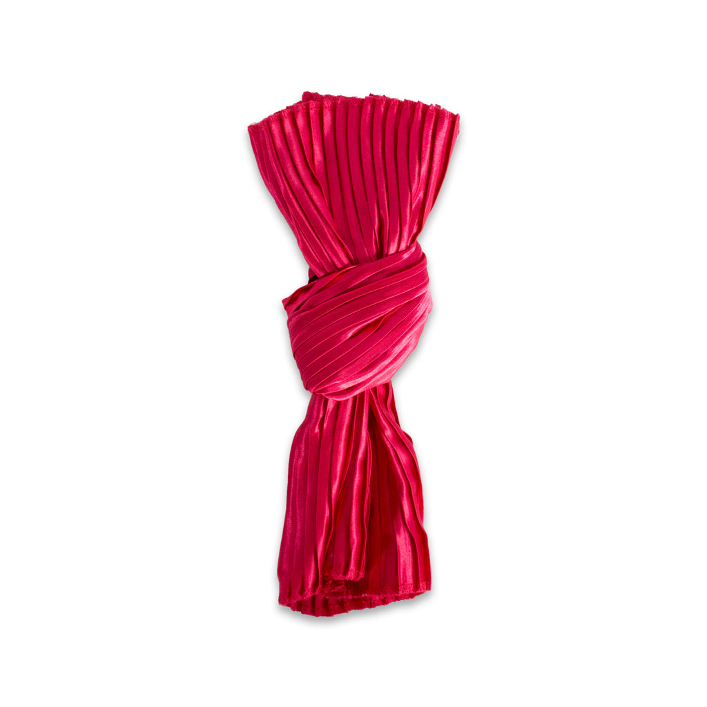 DII Red Satin Knot Np (Set of 6)